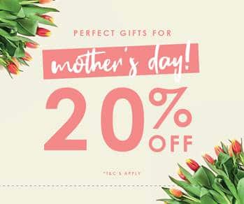 20% off at YOURS