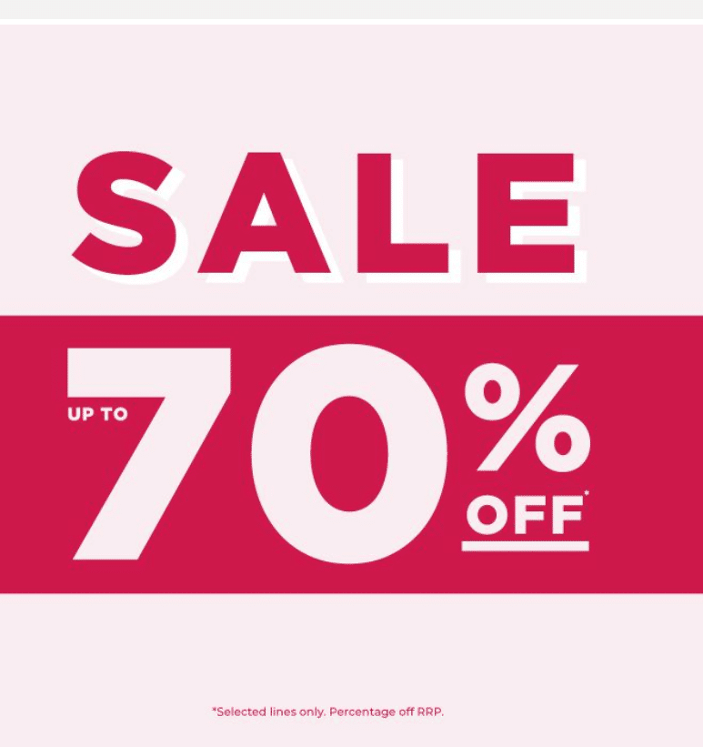 Enjoy a 70% SALE at The Fragrance Shop. Shop the amazing offers on your favourite products at until the 24th of January!